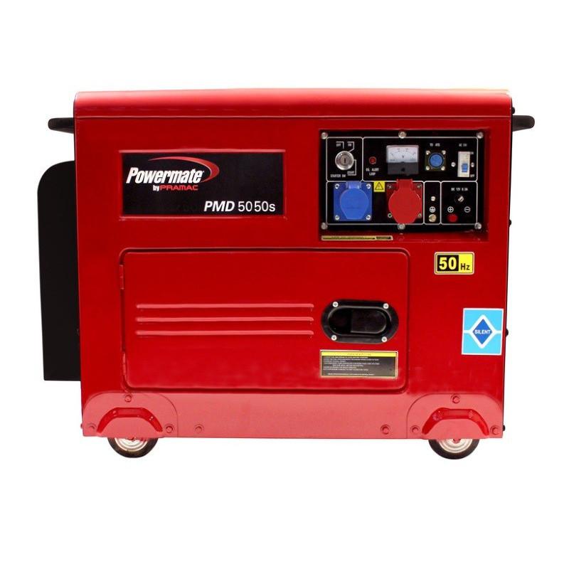 Pramac dizel agregat Powermate PMD 5050s