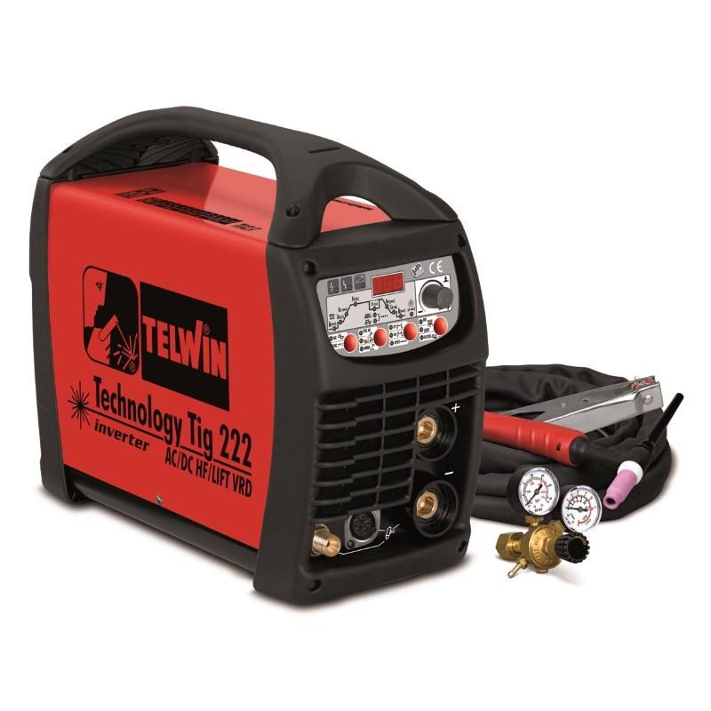 Telwin inverter za varenje Technology 222 AC/DC HF/LIFT