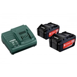 Metabo aku set BASIC SET 2x 4,0 Ah + ASC 30-36V
