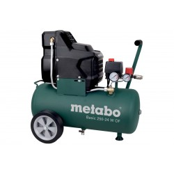 Metabo bezuljni klipni zračni kompresor Basic 250-24 W OF (601532000)