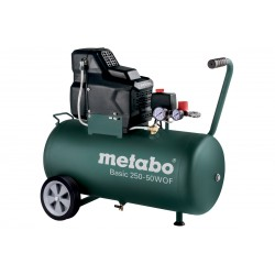 Metabo bezuljni klipni zračni kompresor Basic 250-50 W OF (601535000)