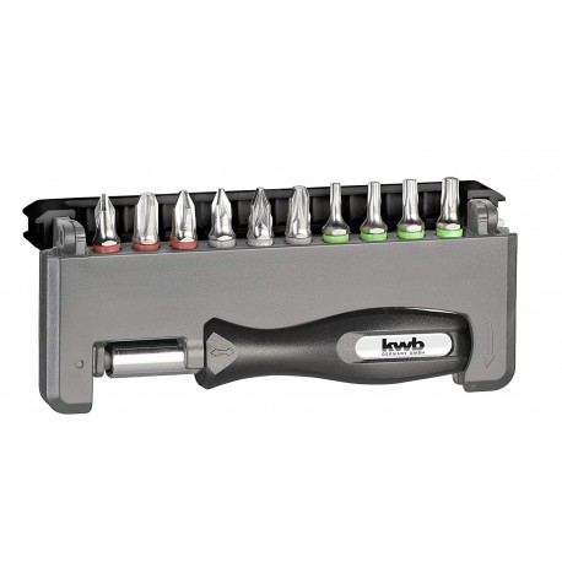 KWB ručni držač nastavaka za odvijač PH-PZ T, 12 kom, SB (151010)