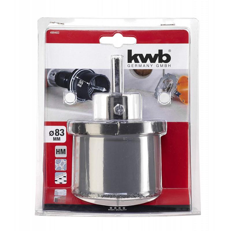 KWB komplet kruna za keramiku Ø 83 mm, SB (499483)