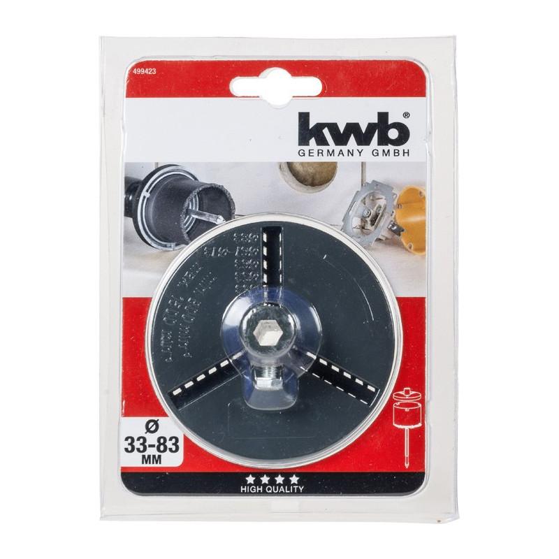 KWB nosač kruna za keramiku 33 - 83 mm (499423)