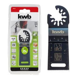 KWB nož za rezanje drveta/gipsa/plastike 34 mm (709154)