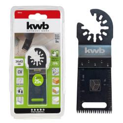 KWB nož za rezanje drveta, laminata, plastike, japanska oštrica, 34 mm