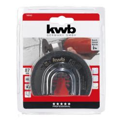 KWB kružni nož HM za pločice i fuge, fi 87 mm