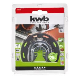 KWB kružni nož HSS za rezanje drveta, plastike, metala, aluminija, fi 80 mm