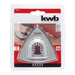 KWB trokutni nosač brusnog papira sa čičkom, 93 mm