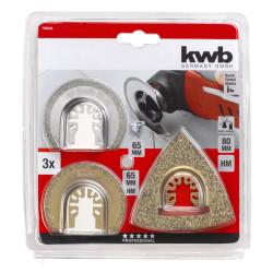 KWB set za repariranje, 3 kom