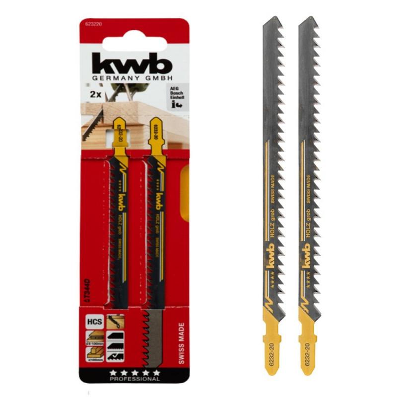 KWB list za ubodnu pilu 152 mm za drvo grubi 2/1