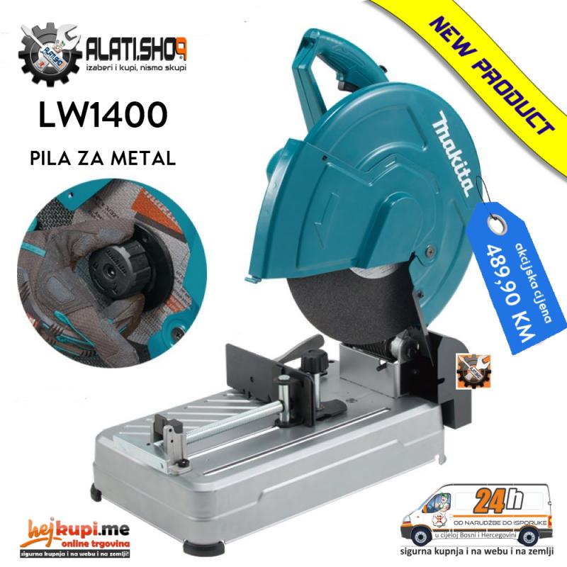 Makita LW1400 pila žaga testera maja za metal