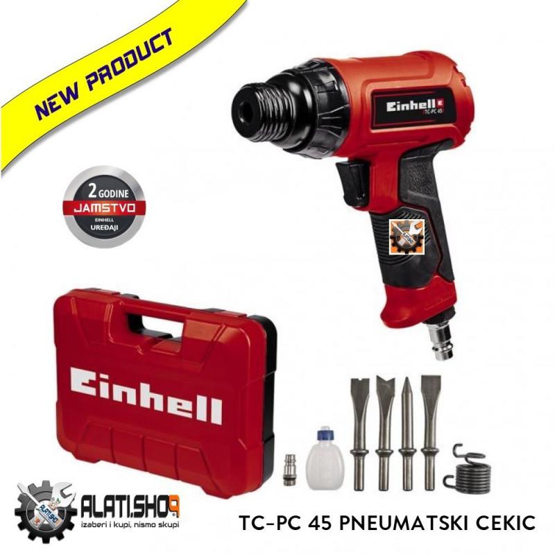 Einhell pneumatski čekić dlijeto u setu TC-PC 45 (4139040)