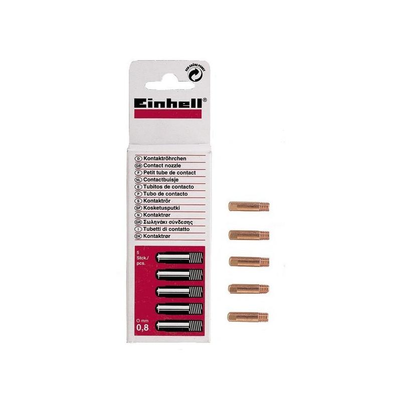 Einhell kontaktna cjevćica za sve plinske aparate 0,8 mm 5 kom (1576210)