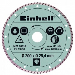 Einhell turbo dijamantna rezna ploča RT-TC 520 U (4301175)