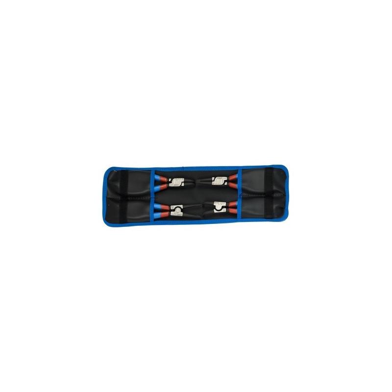 Unior set PLUS kliješta za seger prstene u torbici - 539PLUS/4DPCT