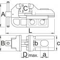Unior stega bravarska IRONGATOR 125 mm - 721/6