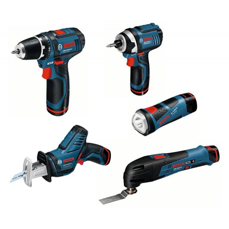 BOSCH set 5 alata 10,8 V-Li sa priborom u L-Boxx-u