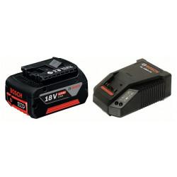 BOSCH Li-Ion akumulator 18 V / 4,0 Ah Professional + brzi punjač AL 1860 CV