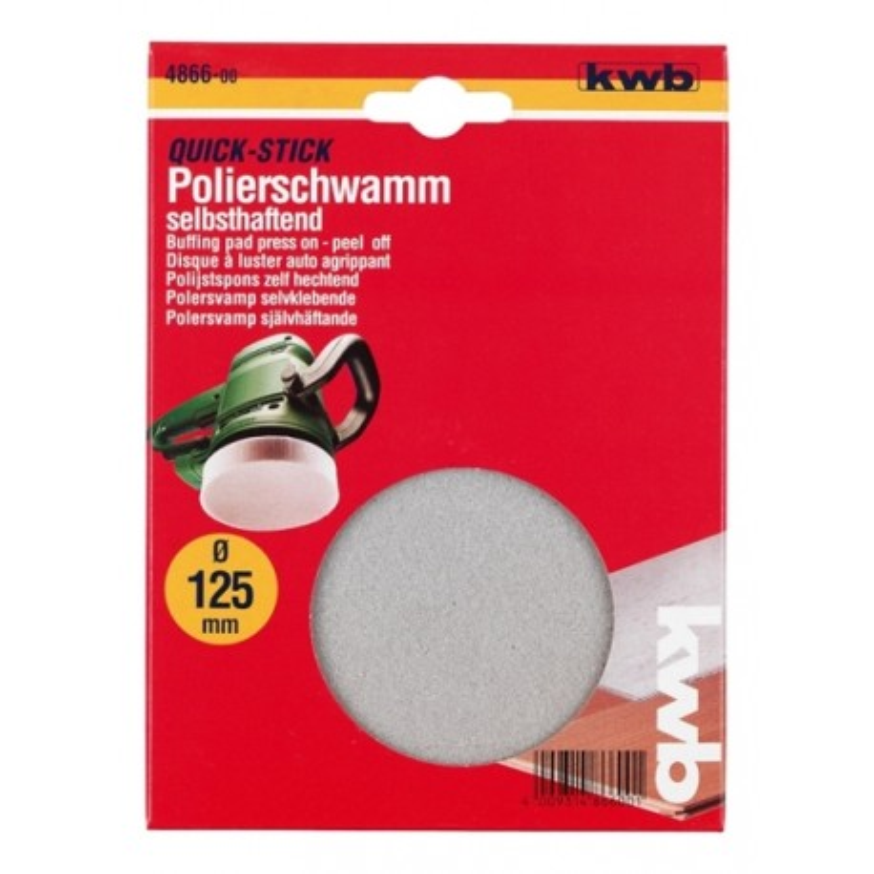 KWB spužva za poliranje Ø 125 mm