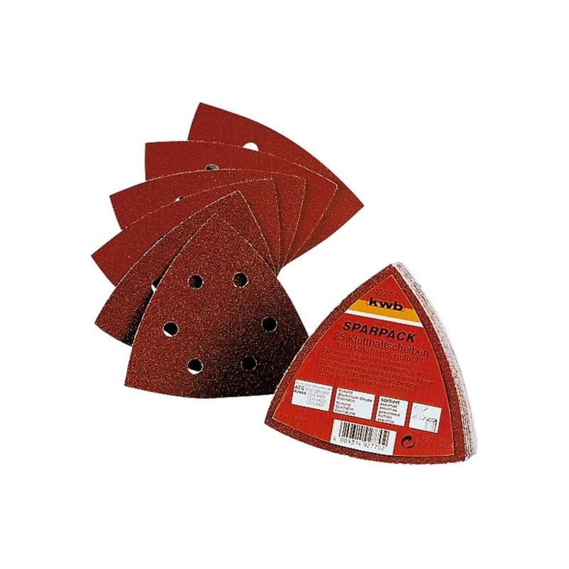 KWB SPARPACK samoljepivi brusni papir za drvo - metal, BOSCH PSM, (1/12 kom)
