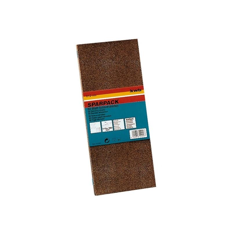 KWB SPARPACK brusni papir za drvo - metal, 93 x 230 mm, tip A, GR mix, (1/30 kom)