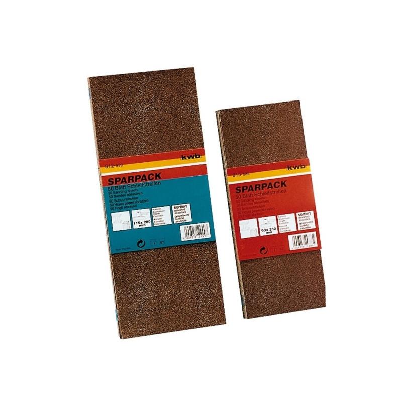KWB SPARPACK brusni papir za drvo - metal, 93 x 230 mm, (1/ 50 kom)