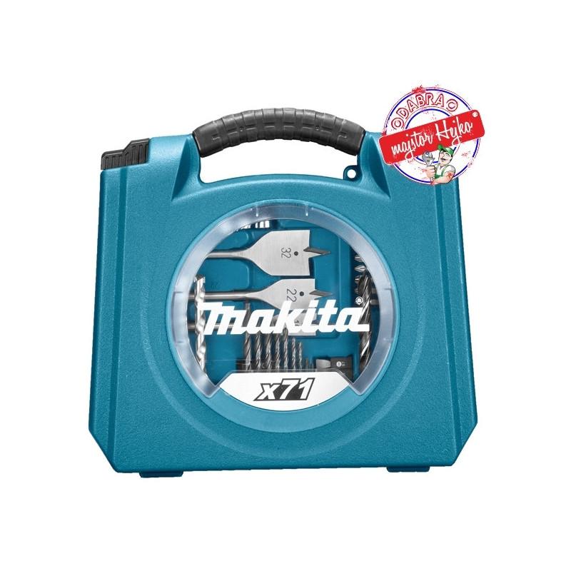 Makita 71-dijelni set D-47145-6