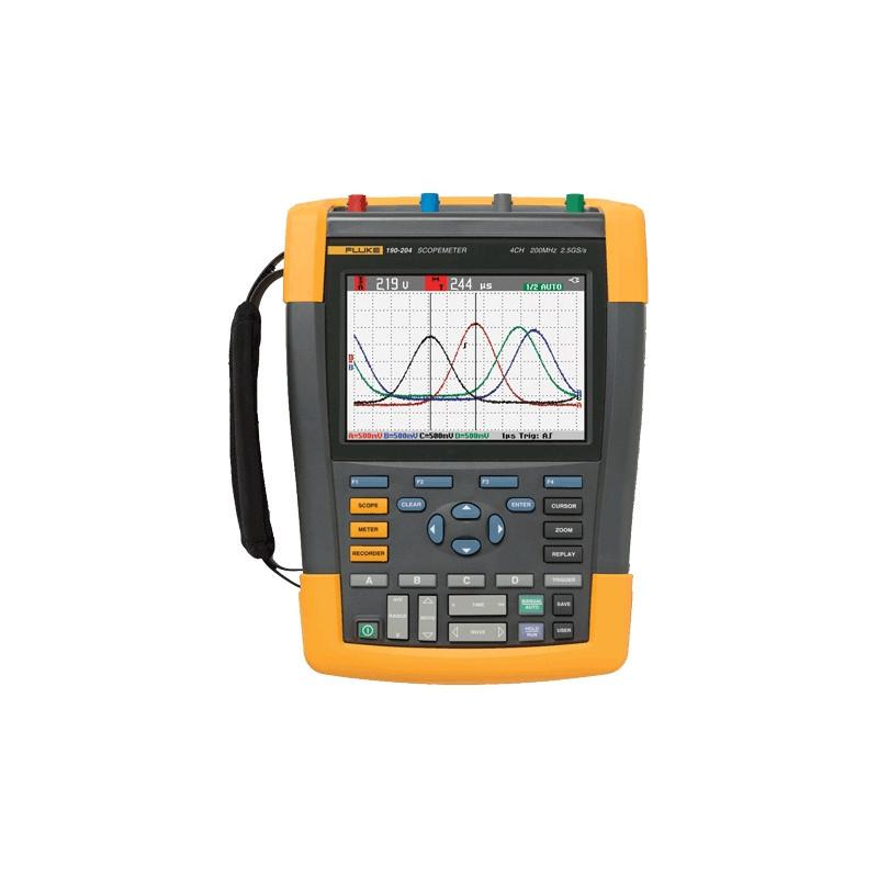 Fluke prenosni 4-kanalni ručni osciloskop 190-204
