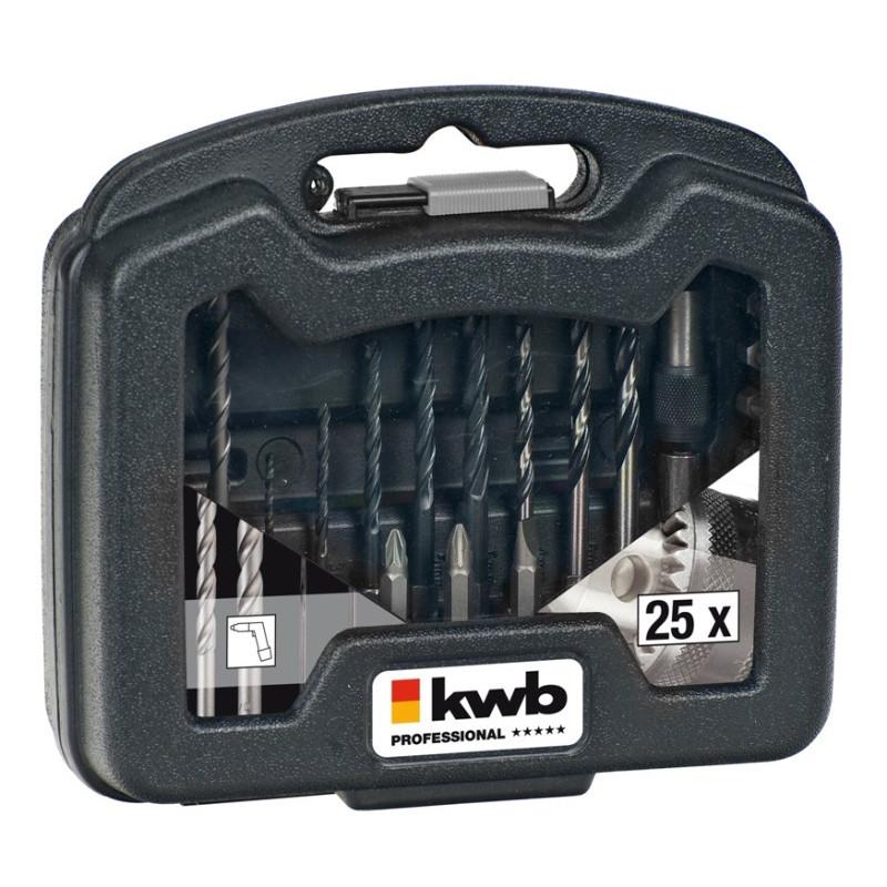 KWB 25-dijelni set pribora PowerBox