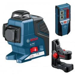 BOSCH laserski nivelir + prijemnik + držač GLL 2-80 P + LR 2 + BM 1 Professional