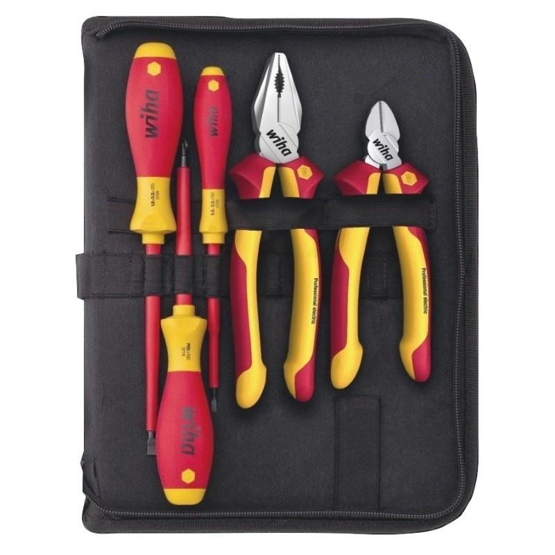 Wiha električarski 5-dijelni set alata u torbi 38572