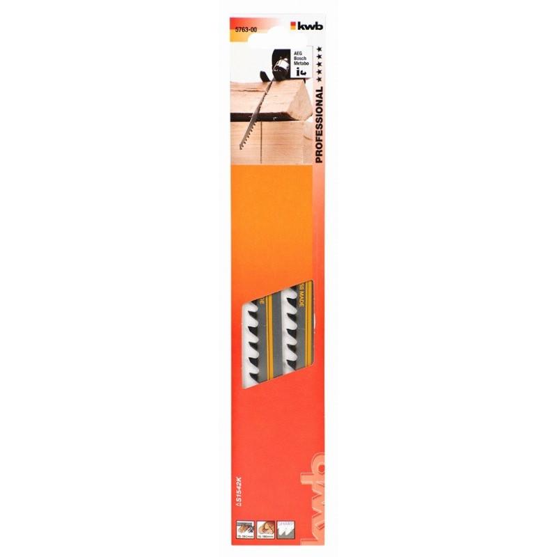 KWB list za ubodnu pilu 240 mm ekstra grubi za tvrdo drvo 2/1