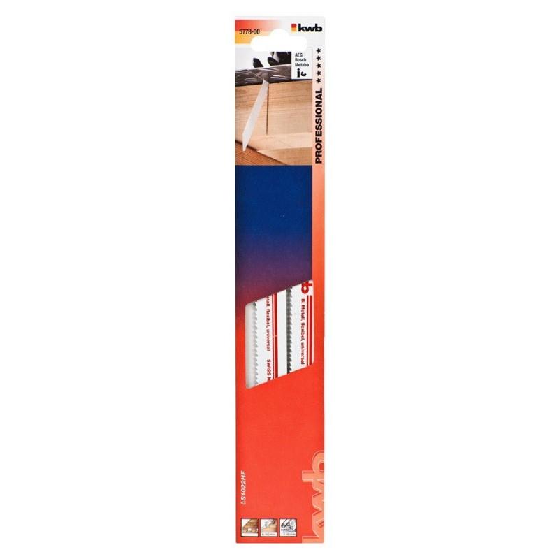 KWB list za ubodnu pilu 200 mm srednje grubi za metal 2/1