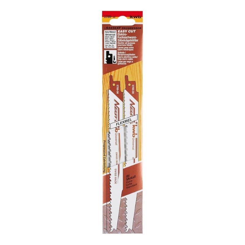 KWB list za ubodnu pilu 200 mm srednje fini za metal i drvo 2/1
