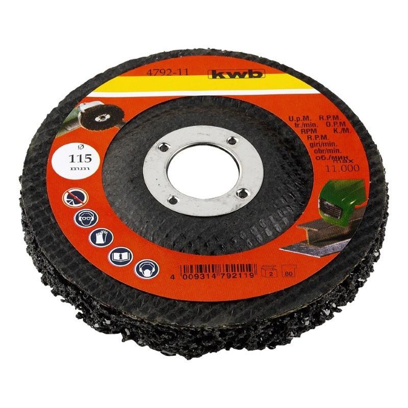 KWB univerzalna ploča za brušenje i poliranje 115 mm