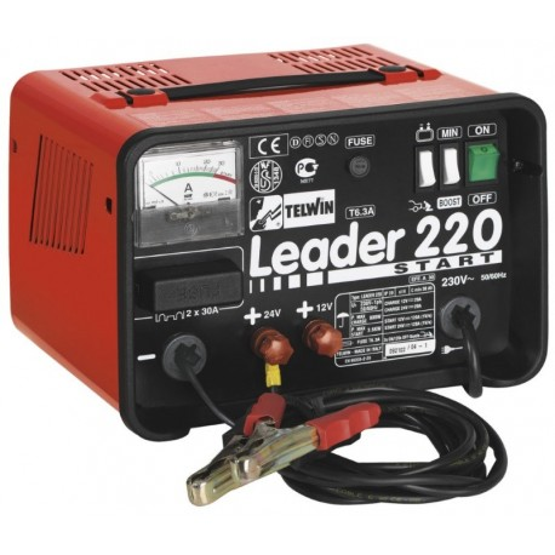 Telwin punjač akumulatora Leader 220 Start