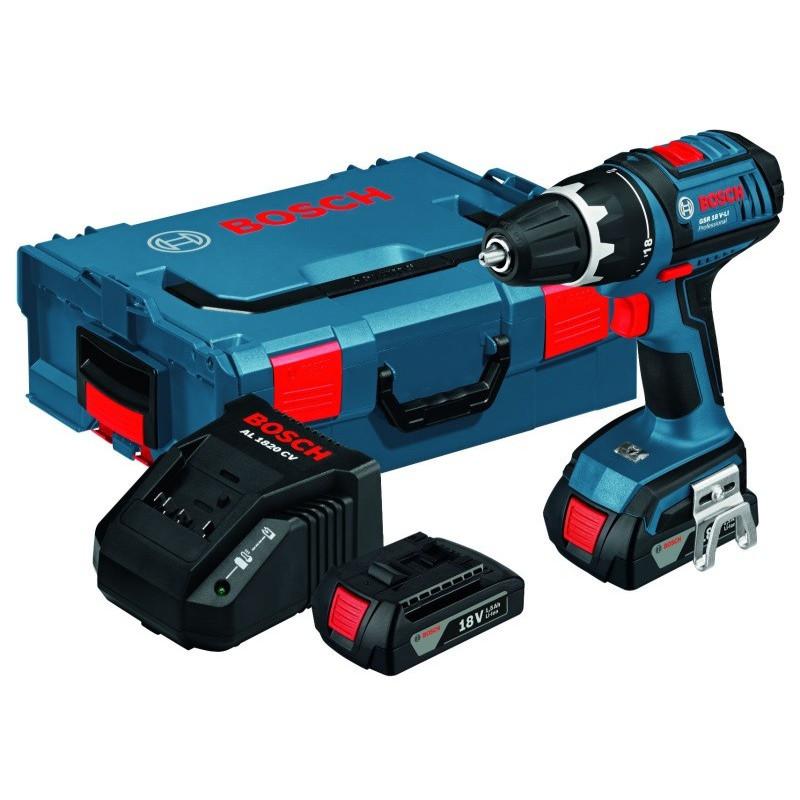BOSCH akumulatorska bušilica GSR 18 V-Li Professional
