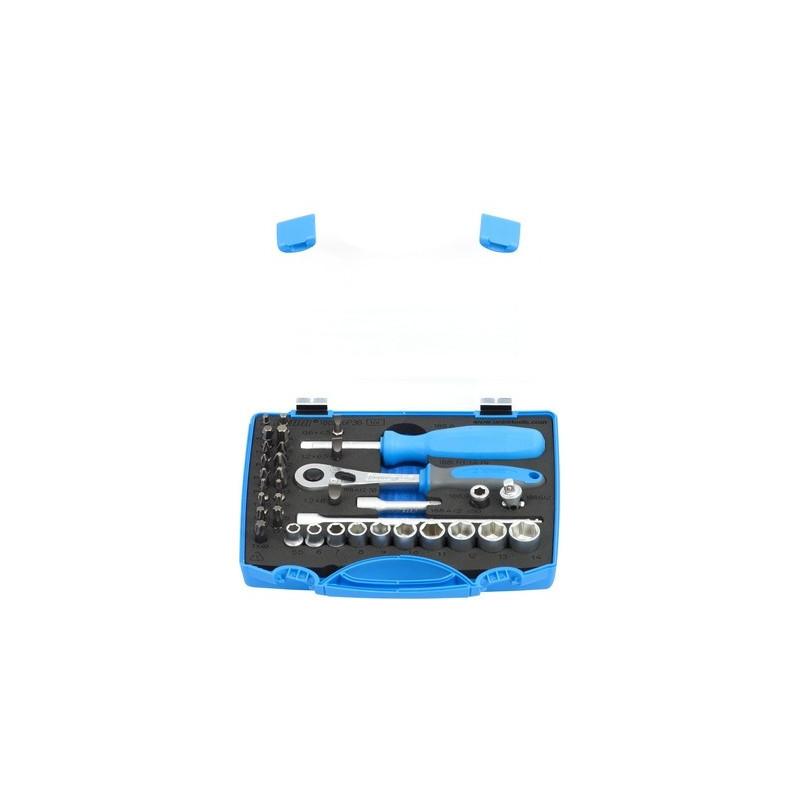 """Unior ključevi nasadni 1/4"""" i nastavci u PVC kutiji - 188BI6P36"""