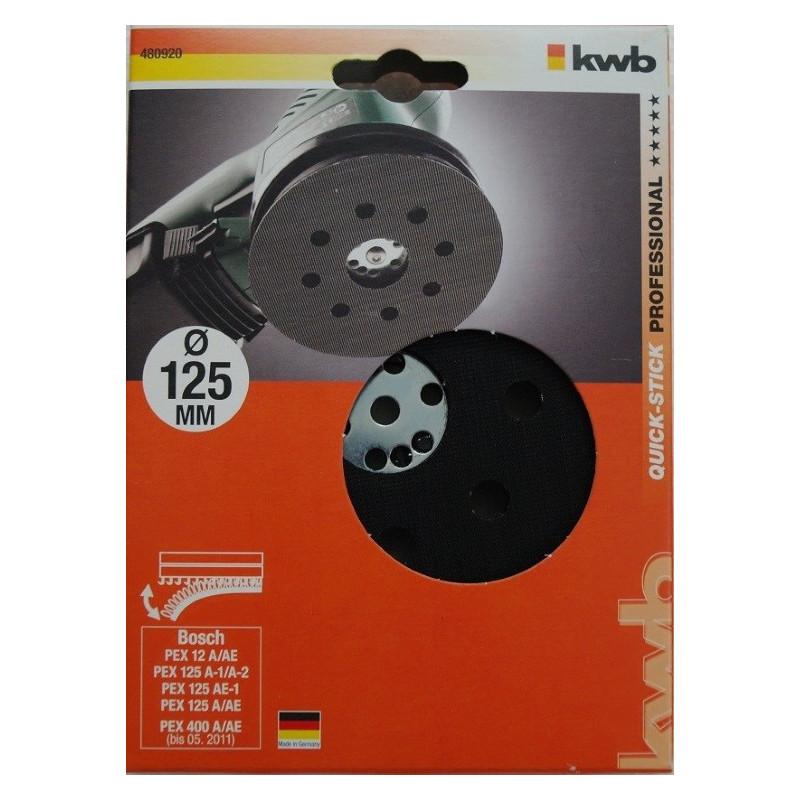 KWB gumeni disk 125 mm, za BOSCH PEX/GEX (480920)