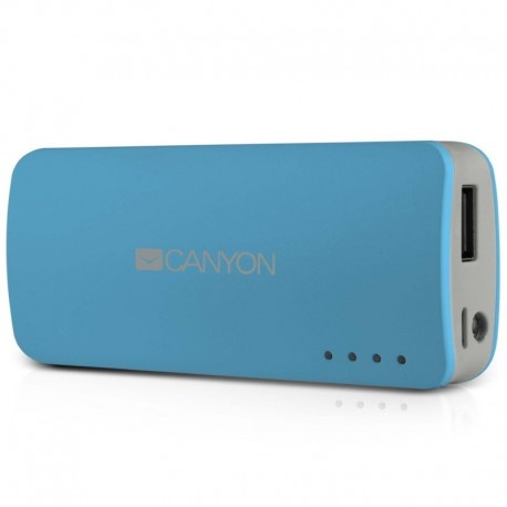 Canyon prijenosni punjač Power Bank 4.400 mAh CNE-CPB44BL