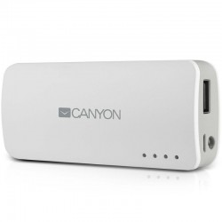 Canyon prijenosni punjač Power Bank 4.400 mAh CNE-CPB44W
