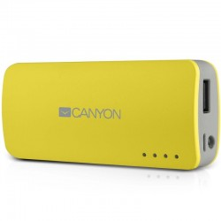 Canyon prijenosni punjač Power Bank 4.400 mAh CNE-CPB44Y