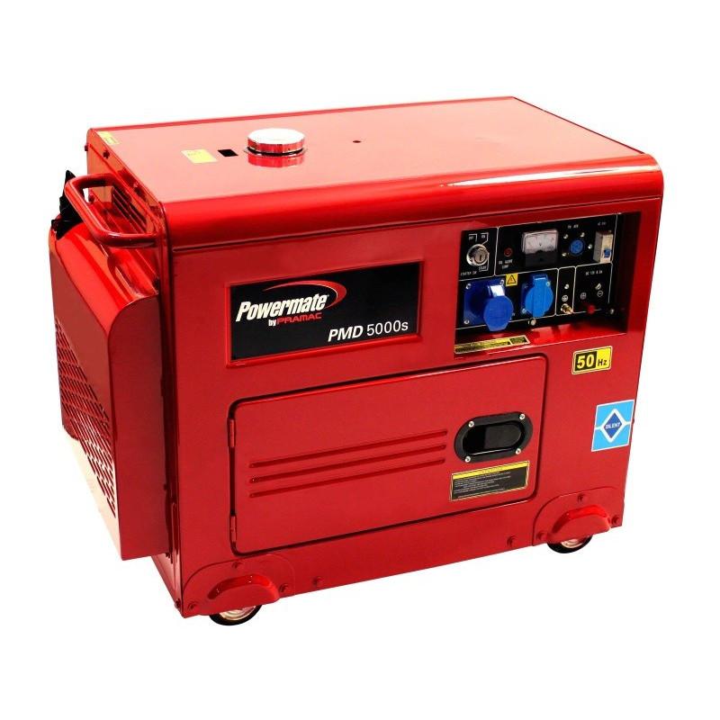 Pramac dizel agregat Powermate PMD5000S